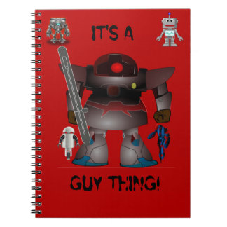 It's A Guy Thing! Spiral Notebook