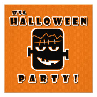 It s a Halloween Party Personalized Invite