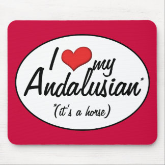It s a Horse I Love My Andalusian Mouse Pads