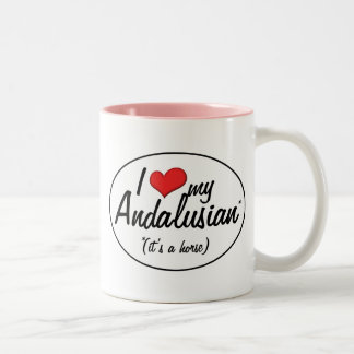 It s a Horse I Love My Andalusian Coffee Mugs