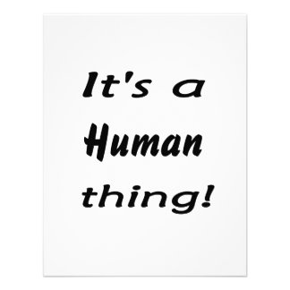 It s a human thing invites
