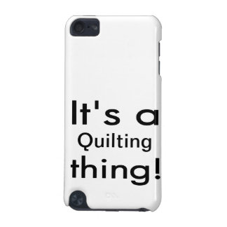 It s a quilting thing iPod touch 5G covers
