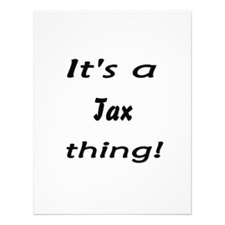 It s a tax thing personalized announcement