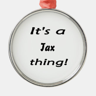 It s a tax thing ornaments
