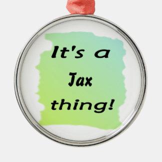 It s a tax thing ornament