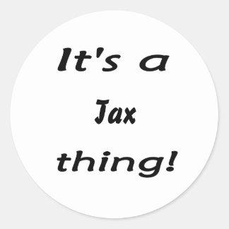 It s a tax thing sticker