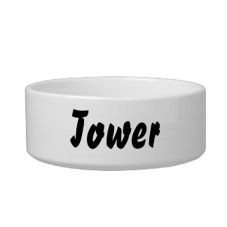 It s a tower thing cat bowls