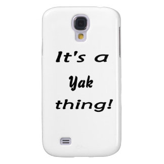 It s a yak thing samsung galaxy s4 cover