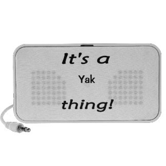 It s a yak thing travel speaker
