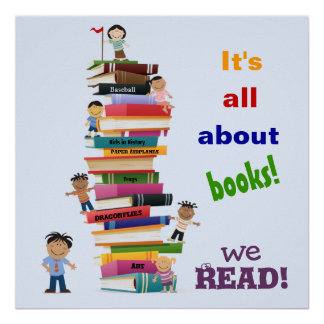 It s All About Books Poster