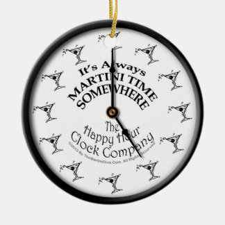 IT S ALWAYS MARTINI TIME SOMEWHERE ORNAMENT