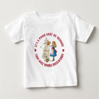 IT;S APOOR SORT OF MEMROY THAT WORKS BACKWARDS BABY T-Shirt