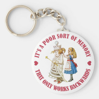 IT;S APOOR SORT OF MEMROY THAT WORKS BACKWARDS KEYCHAIN