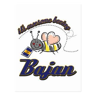 It's awesome being Bajan Postcard