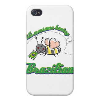 It's awesome being Brazilian iPhone 4 Cover