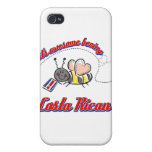 It's awesome being Costa Rican iPhone 4 Case