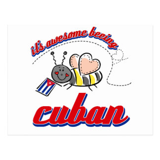 It's awesome being Cuban Postcard