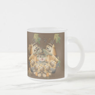 It's Finally Fall Frosted Glass Coffee Mug
