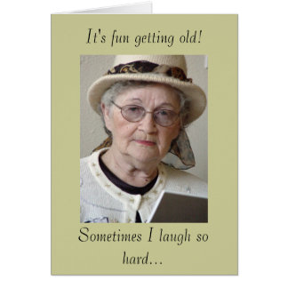 It s fun getting old greeting cards