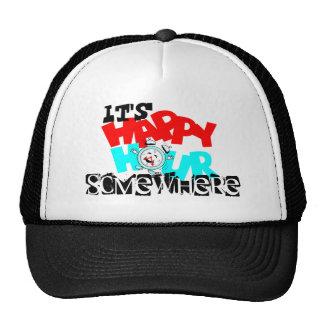 It s Happy Hour somewhere Anthropomorphic Hats