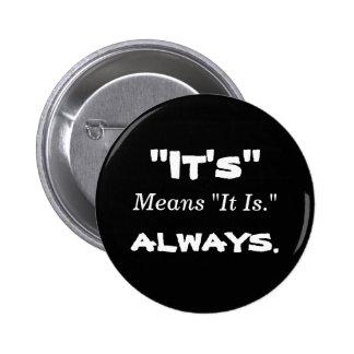 It s Means It Is Button
