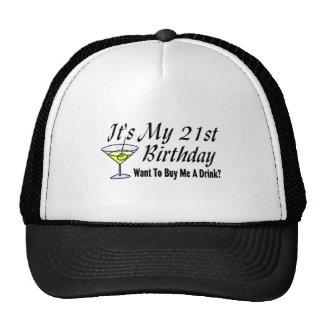 It s My 21st Birthday Trucker Hat