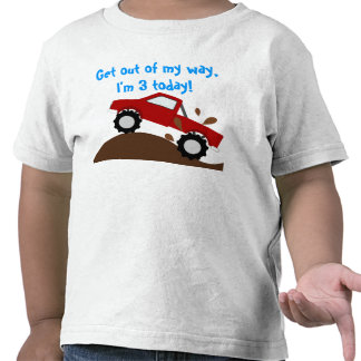 It s My Birthday Monster Truck T-shirts