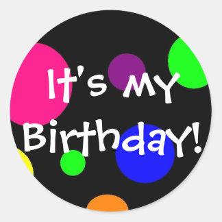 It s my birthday stickers