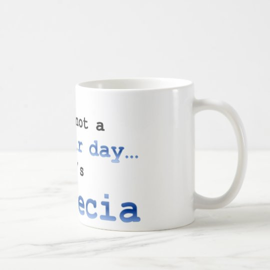It's not a bad hair day… it's  Alopecia Coffee Mug