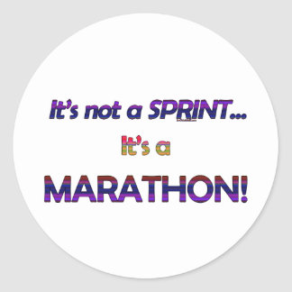 It s not a Sprint 2 Round Stickers