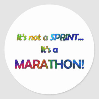It s not a Sprint Stickers