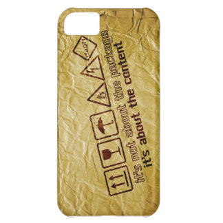it s not about the package iPhone 5C cover