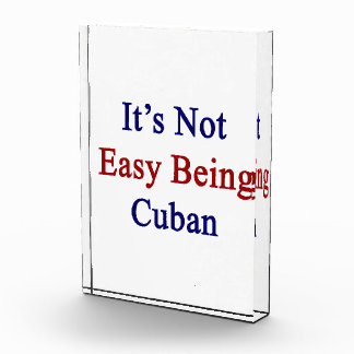 It s Not Easy Being Cuban Awards