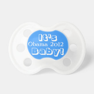 It's Obama 2012 Baby! Pacifier