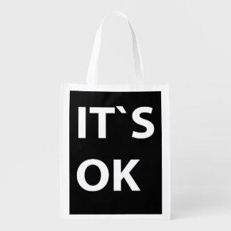 IT`S OK GROCERY BAG