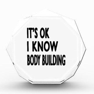 It s OK I Know Body Building Dance Award