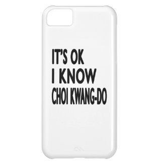 It s Ok I know Choi Kwang-Do iPhone 5C Case