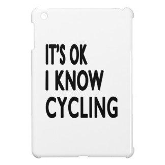 It s OK I Know Cycling Dance iPad Mini Cases