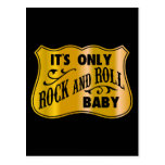 It´s Only Rock And Roll Baby Postcards