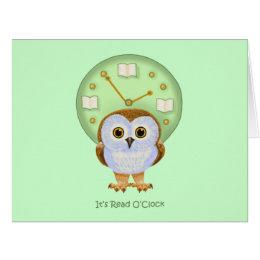 It's Read O'Clock Card