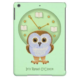 It's Read O'Clock iPad Air Covers