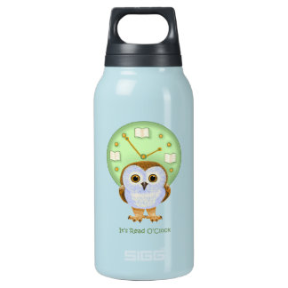 It's Read O'Clock Insulated Water Bottle