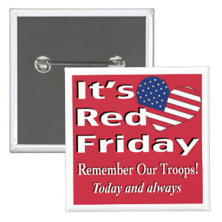 It s Red Friday Buttons