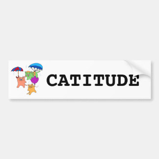 It s Reigning Cats Bumper Stickers