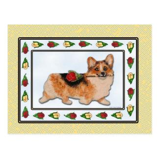 It s Rosie - Tri-color Corgi Postcard
