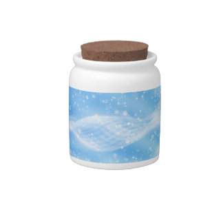 It s Snowing Candy Dish