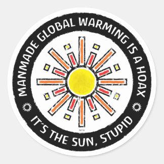 It's The Sun, Stupid Classic Round Sticker