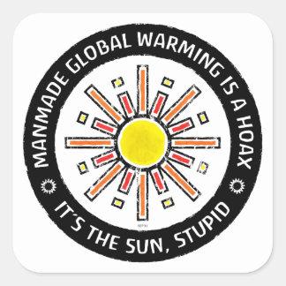 It's The Sun, Stupid Square Sticker
