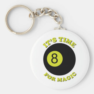 It s Time For Magic Keychain