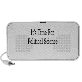 It s Time For Political Science Laptop Speaker